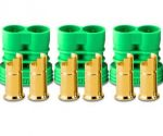 Castle Creations 6.5mm Polarized Bullet Connectors Female (3 Sets)