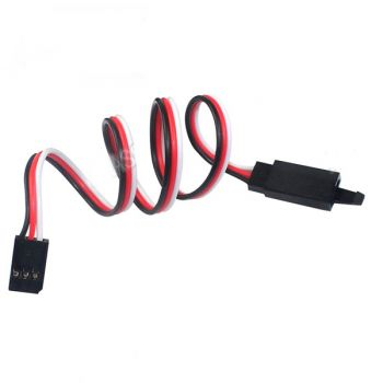 "150mm (5.9"") Servo or ESC extension wire - Futaba style"