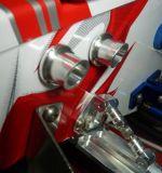 x Traxxas Spartan Mock Exhaust Pipes - Blue