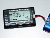 Battery Voltage Capacity Checker