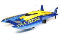 "ProBoat UL-19 30"" Hydroplane RTR with Krazed Builds Carbon Fiber Battery Tray"