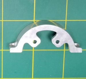 Front 4 hole pattern clamp for OSE Quick Change Mount