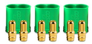 Castle Creations 6.5mm Polarized Bullet Connector Male (3sets)