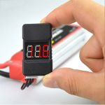 Lipo cell voltage tester and low voltage alarm