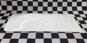 Replacement Cowl/Hatch for Delta Force 35 Mono : WHITE