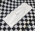 "Replacement Cowl/Hatch for Delta Force Pirate 35"" : WHITE"