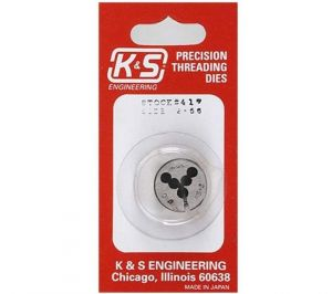 K&S Threaded Die 2-56