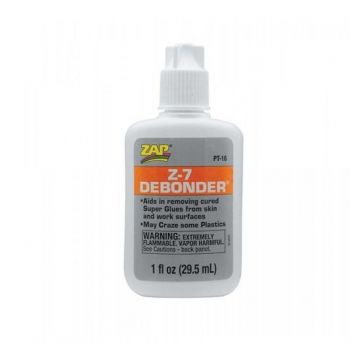 Zap Adhesives Z-7 De-Bonder 1 oz