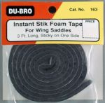Du-Bro Instant Stick Foam Saddle Tape