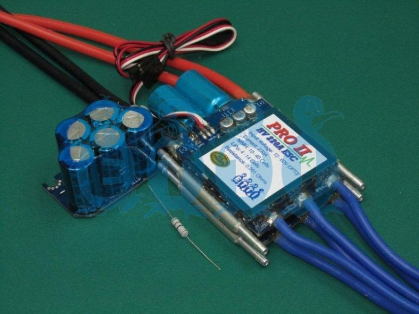 Etti Hv 220a Opto Pro Ii Navy Competition Brushless Esc