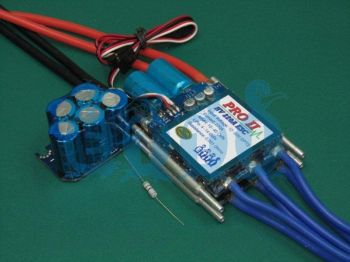 Etti HV 220A Opto PRO II Navy Competition Brushless ESC (10-40 Opto)