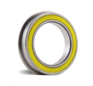 Flanged Ceramic Hybrid sealed bearing for 4mm shafts 4 x 10 x 4mm