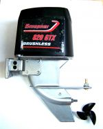 Graupner GTX 820 Outboard with Brushless Motor