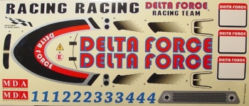 Delta Force 26, 29 & 33 Decal Sheets