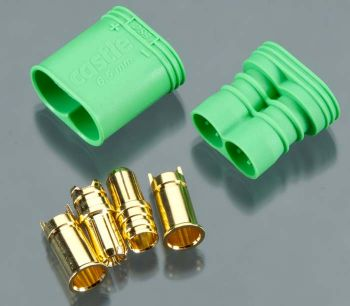 Castle Creations 6.5mm Polarized Bullet Connectors (2 Pairs)