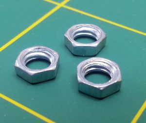 "Octura thin nut for 3/16"" shafts with 10/32 thread"