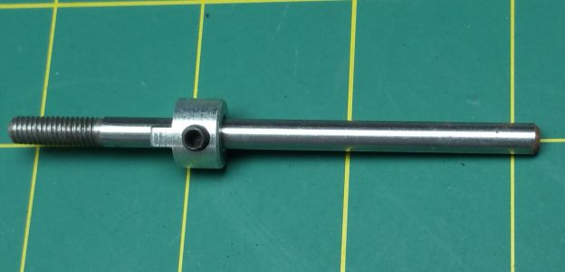 "Propeller Shaft 4.25"" Long (3/16""Dia) & Drive Dog"