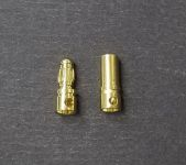 OSE 3.5mm Gold Plated Bullet Connectors