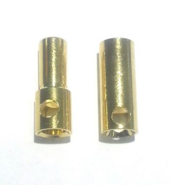 OSE 5.5mm Gold Plated Bullet Connectors