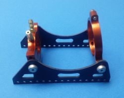 Fiberglass, Water cooled heavy duty motor mount for 40mm motors.