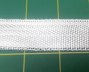 Fiberglass seam and parts mounting cloth 25mm wide