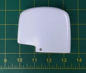 White fiberglass OutBoard Cover ONLY