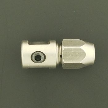 "OSE 5mm to 3.18mm (.125"") Coupler : 25mm Long"
