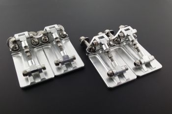 CNC Billet Double Trim tabs 60mm x 50mm