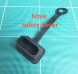 OSE 8.0mm Anti Spark Safety Cover for Male Connector