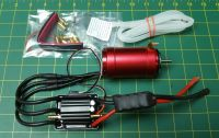 OSE Leopard 4082 x2 Motor & Esc Package for Traxxas Spartan