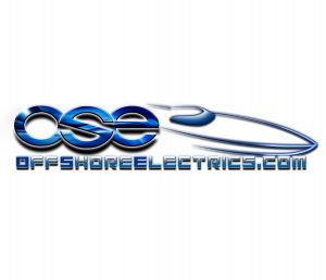 OffshoreElectrics Stickers Blue
