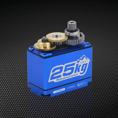 Power HD 25kg waterproof, standard size digital servo