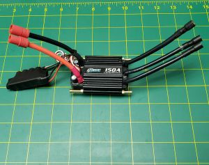 OSE Raider 6s 150amp Esc with connectors