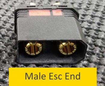 OSE 8.0mm Anti Spark male connector