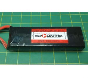 Revolectrix Lipo Pack 5000mah : Blend420 SILVER Label 70C : Graphene Oxide Hard Carbon Cells