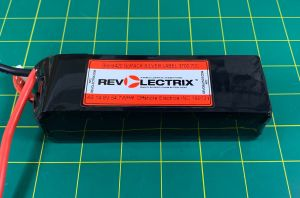 Revolectrix Lipo Pack: 4S 3700mah : Blend420 SILVER Label 70C : Graphene Oxide Hard Carbon Cells