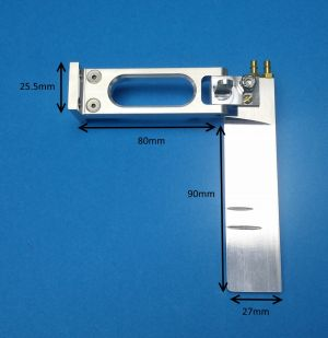Speedmaster Small Extended Dual Pickup Rudder Assembly
