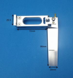 Speedmaster Small Extended Rudder Assembly