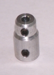5mm to 4mm straight coupler