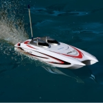 ProBoat Mini-C Catamaran White EP RTR