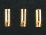 3.5mm Female Bullet Connectors (3 Pack)