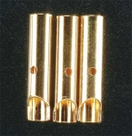 4.0mm Female Bullet Connectors (3 Pack)