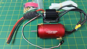 OSE Motor & Esc Package for Traxxas Spartan