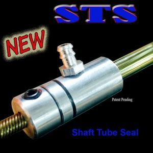 Shaft Tube Seal(STS) for 1/4 (6.35mm) stuffing tube
