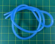 TFL 9/32 Blue water or fuel tubing