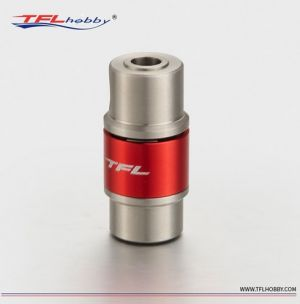 Stainless steel coupler : 4mm x 4mm for RC boat