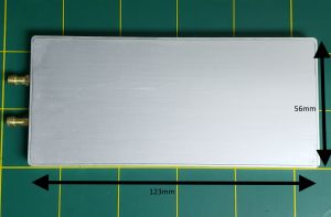Water Cooling Plate 123mm x 56mm x 7mm