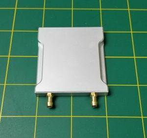 Water Cooling Plate 60mm x 54mm x 7mm