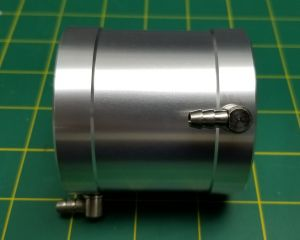 Water Jacket for 56mm Motor : 56mm x 65mm Long