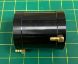 Water Jacket for 56mm Motor : 56mm x 75mm Long: Black